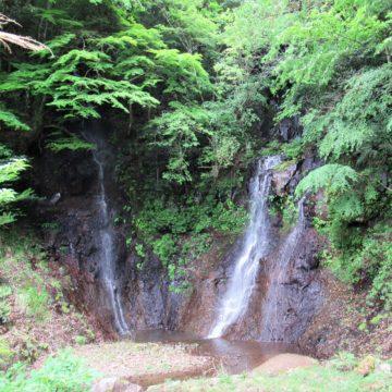 鬼の雁木の滝